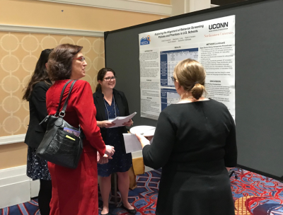 NEEDs2 poster presentation at the 22nd Annual Conference on Advancing School Mental Health in October, 2017.